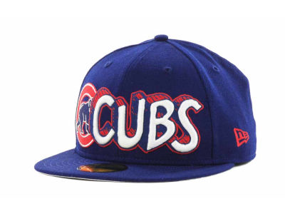 Chicago Cubs MLB The Ice 59FIFTY Hats