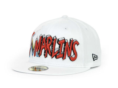 Miami Marlins MLB The Ice 59FIFTY Hats
