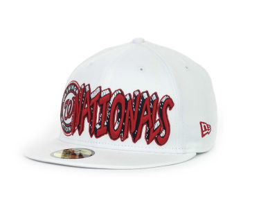 Washington Nationals MLB The Ice 59FIFTY Hats