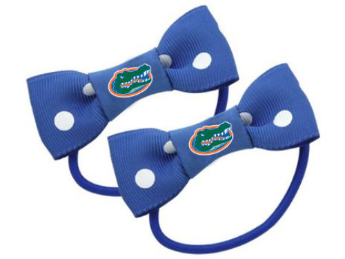 Florida Gators Bow Pigtail Holders