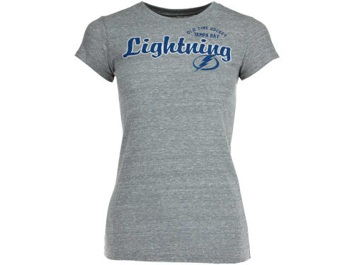 Tampa Bay Lightning Old Time Hockey NHL Womens Anita T-Shirt