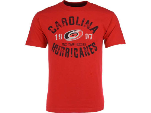 Carolina Hurricanes Old Time Hockey NHL Adams T-Shirt