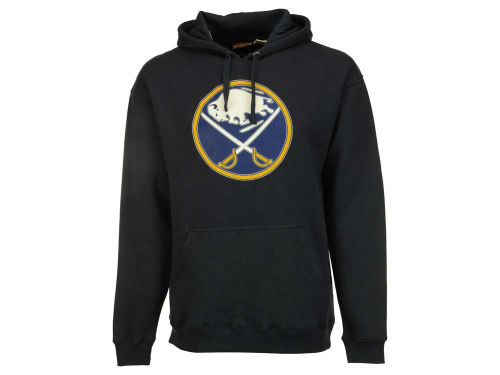 Buffalo Sabres Old Time Hockey NHL Big Logo Hoody