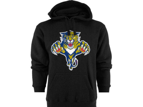 Florida Panthers Old Time Hockey NHL Big Logo Hoody