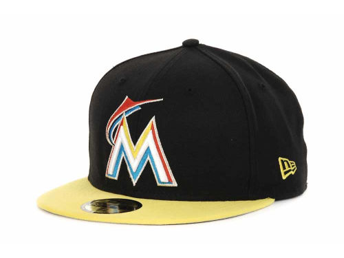 Miami Marlins New Era MLB 2T Custom 59FIFTY Hats