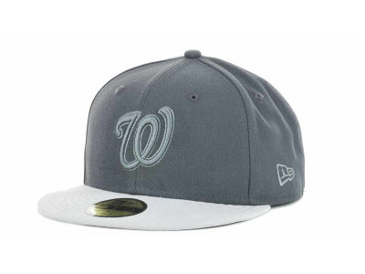 Washington Nationals MLB AG Tone 59FIFTY Hats