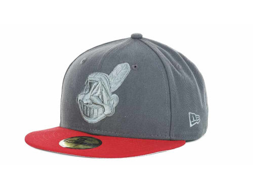 Cleveland Indians New Era MLB AG Tone 59FIFTY Hats