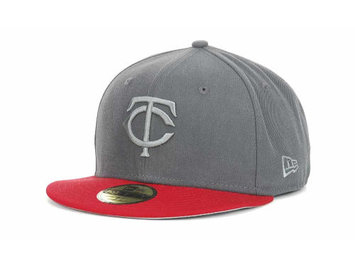 Minnesota Twins New Era MLB AG Tone 59FIFTY Hats