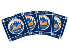New York Mets Ceramic Coasters Set Of 4 Kitchen & Bar