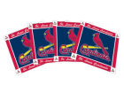 St. Louis Cardinals Ceramic Coasters Set Of 4 Kitchen & Bar