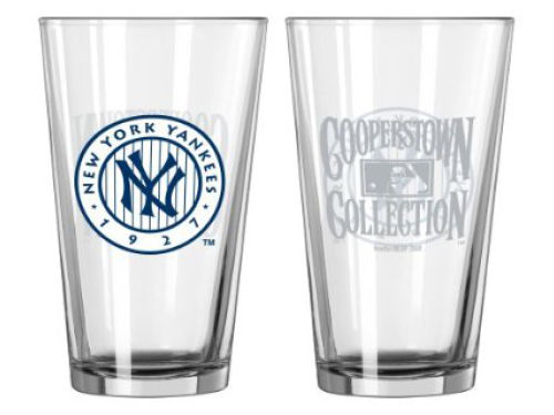 New York Yankees Boelter Brands Pint Glass