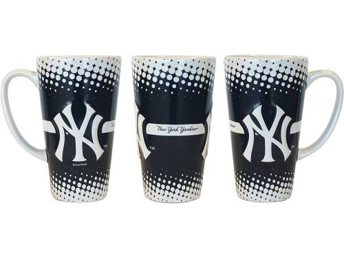 New York Yankees 16oz Sculpt Latte Mug