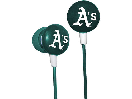 Oakland Athletics iHip Earbuds