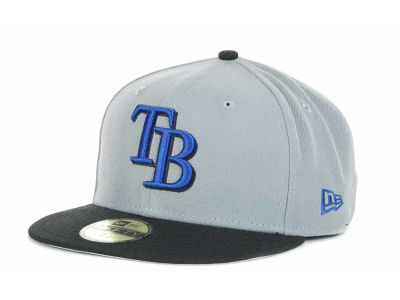 Tampa Bay Rays MLB SB Tone 59FIFTY Hats
