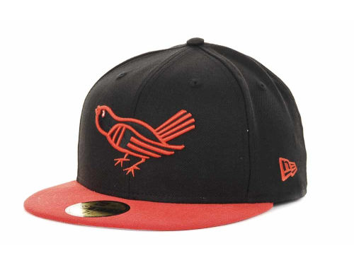 Baltimore Orioles New Era MLB Cooperstown 59FIFTY Hats