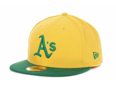 Oakland Athletics MLB Cooperstown 59FIFTY Hats