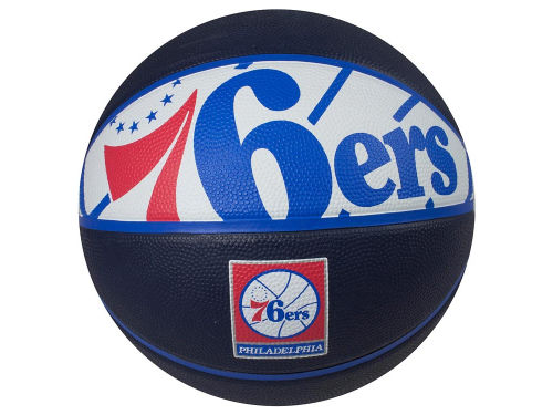 Philadelphia 76ers Courtside Ball Size 7 Boxed