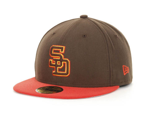 San Diego Padres New Era MLB Cooperstown 59FIFTY Hats