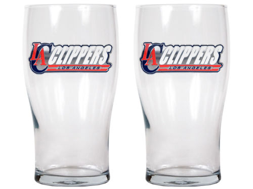 Los Angeles Clippers 2 Pack 20oz Pub Glass