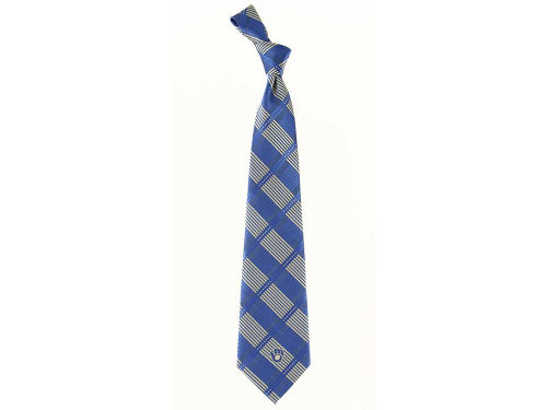 Milwaukee Brewers Necktie Woven Poly Plaid