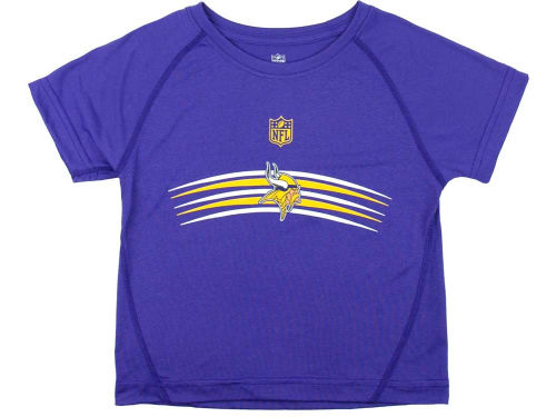 Minnesota Vikings Outerstuff NFL Kids Bold Arches T-Shirt