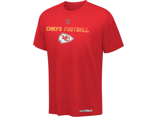 Kansas City Chiefs Outerstuff NFL Kids Dri-Tek EQT T-Shirt