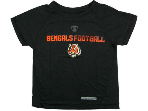 Cincinnati Bengals Outerstuff NFL Youth Dri-Tek Equipment T-Shirt