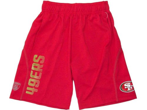 San Francisco 49ers Outerstuff NFL Youth Performance Short