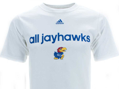 Kansas Jayhawks adidas NCAA All For One T-Shirt