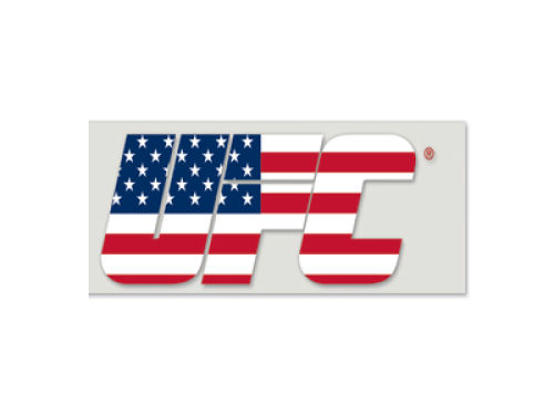 UFC Die Cut Decal 2