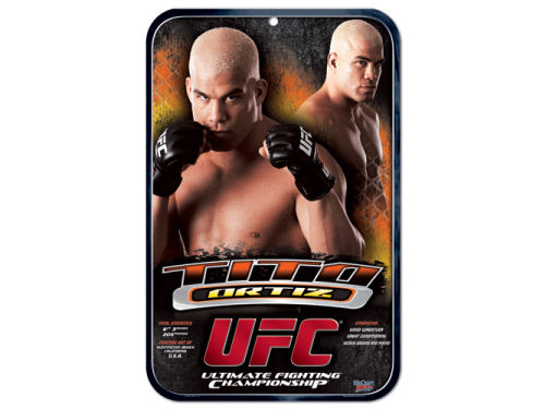 UFC Tito Ortiz Clubhouse Sign
