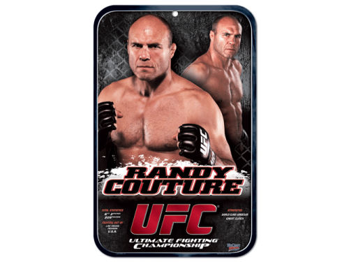 UFC Randy Couture Clubhouse Sign