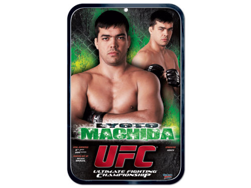 UFC Lyoto Machida Clubhouse Sign