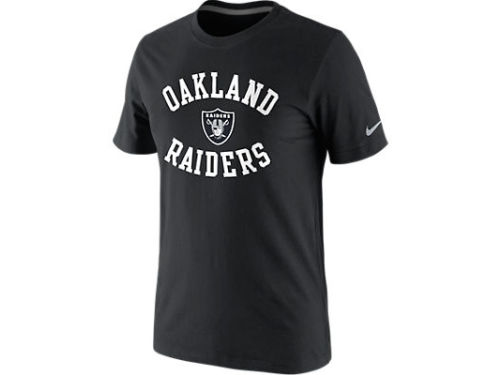 Oakland Raiders Nike NFL Washed T-Shirt