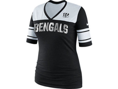 Cincinnati Bengals Nike NFL Womens Touchdown Top