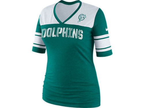 Miami Dolphins Nike NFL Womens Touchdown Top