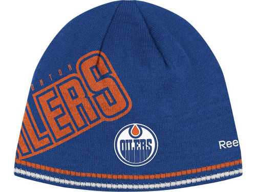 Edmonton Oilers Reebok NHL 2012 Player Knit Hats