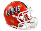 Illinois Fighting Illini Riddell Speed Mini Helmet Collectibles