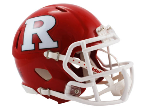 Rutgers Scarlet Knights Riddell Speed Mini Helmet