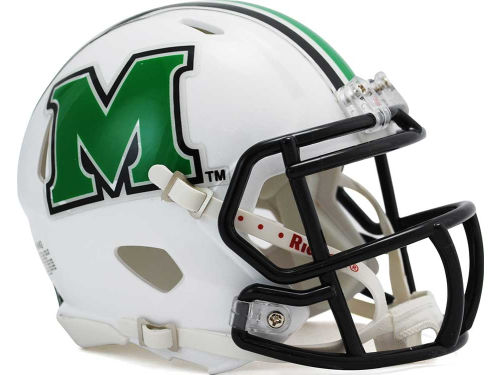 Marshall Thundering Herd Riddell Speed Mini Helmet