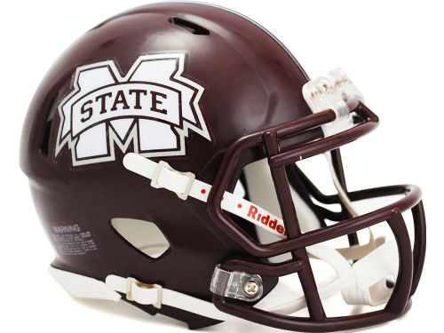 Mississippi State Bulldogs Riddell Speed Mini Helmet