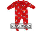 Kansas City Chiefs Outerstuff NFL Newborn Full Zip Raglan Coverall Infant Apparel