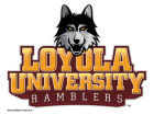 Loyola Ramblers Wincraft 5x6 Ultra Decal Bumper Stickers & Decals