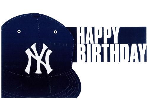 New York Yankees Navy MLB Birthday Card