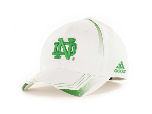Notre Dame Fighting Irish adidas ND Emerald Flex Cap Hats