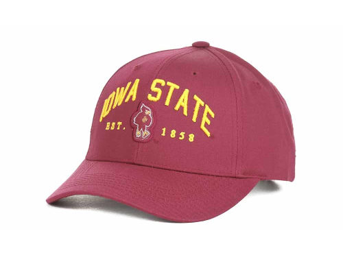 Iowa State Cyclones Top of the World NCAA Capacity Twill Cap Hats