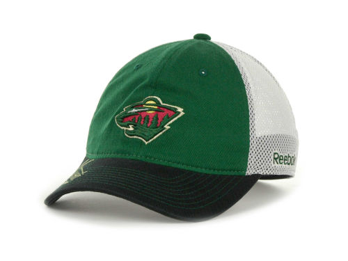 Minnesota Wild Reebok NHL 2012 Official Team Slouch Cap Hats