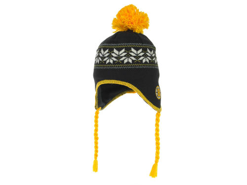 Boston Bruins CCM Hockey NHL Peruvian Knit 2012 Hats