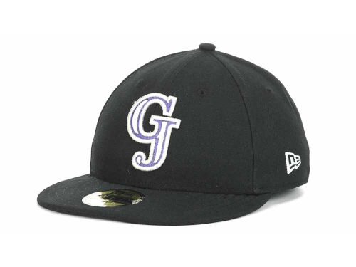 Grand Junction Rockies New Era MiLB 59FIFTY Hats