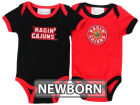 Louisiana Lafayette Ragin Cajuns NCAA Newborn 2 Pack Contrast Creeper Infant Apparel